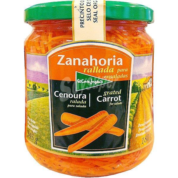 El Corte Ingles Zanahoria Rallada Para Ensaladas Frasco 180 G Neto Escurrido Revisa aquí nuestros precios bajos en ensaladas. soysuper