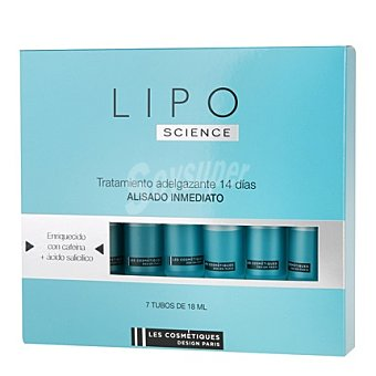 Les Cosmétiques Tratamiento Adelgazante Lipo Science Pack 7x18 ml