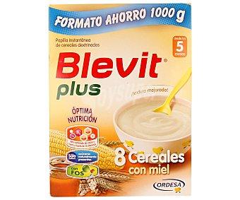 Blevit Papilla plus 8 cereales con miel 1000 g