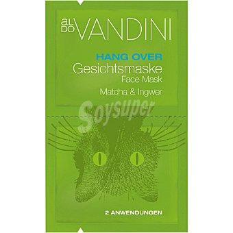 Aldo Vandini Mascarilla facial revitalizante con matcha & jengibre 2 aplicaciones 2 x 7,5 ml