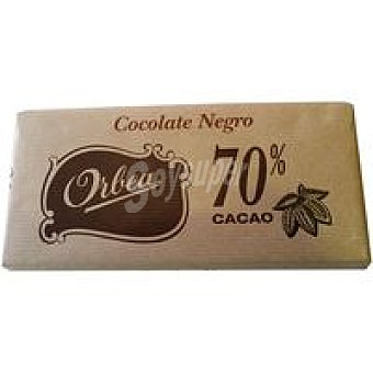 Orbea Chocolate negro origen Madag. 70 % cacao Tableta 125 g