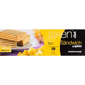 SIKENDIET Sandwich de queso Caja 6 unid