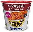 Ke Pasta! Macarrones boloñesa Vaso 79 g Yatekomo Gallina Blanca