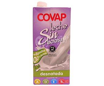 Covap Leche Desnatada sin Lactosa 1 Litro
