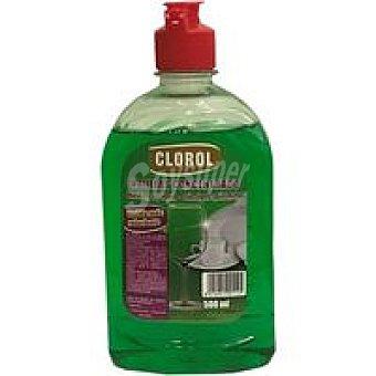 Clorol Lavavajilla concentrado Botella 500 ml
