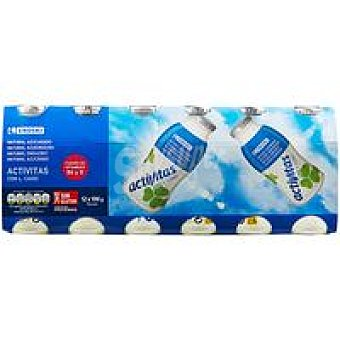 Eroski Activitas natural Pack 12x100 ml