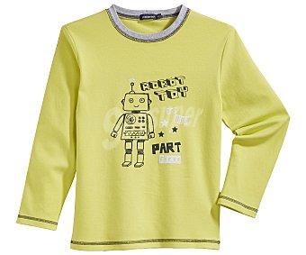 In Extenso Pijama largo para niño, color verde, talla 5