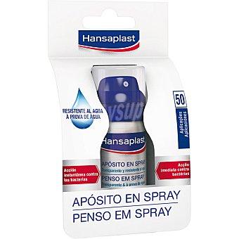 Hansaplast Aposito cubre heridas impermeable y transparente spray 50 aplicaciones