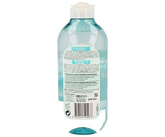Garnier Agua micelar todo en uno (desmaquilla, limpia y matifica rostro, lábios y ojos) 400 mililitros