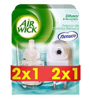 Air Wick Ambientador Eléctrico Aparato Nenuco 2x1 1 ud