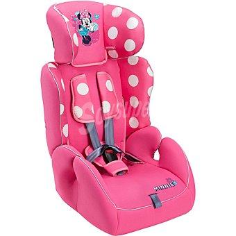 Disney Silla Para automóvil de color rosa con dibujo de Minnie grupo 1 - 2 - 3 1 unidad