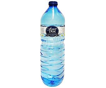 Font D'Or Agua mineral Botella 1,5 litros