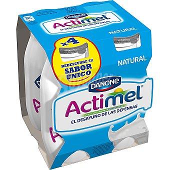 Danone Actimel Yogur líquido natural Pack 4 envase 100 g