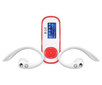 Mp spc Reproductor Internet 8608A 8GB de capacidad, sintonizador de radio FM, clip deportivo y brazalete deportivo. Color coral