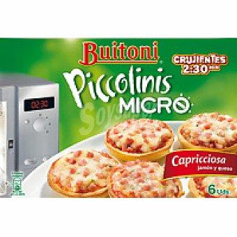 Buitoni Piccolinis micro Capricciosa Caja 180 g
