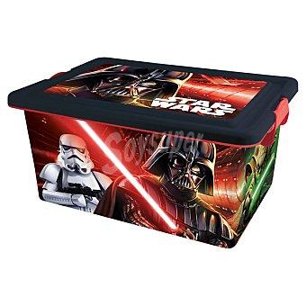 DISNEY Caja de ordenación con dibujo de Star Wars  1 Unidad