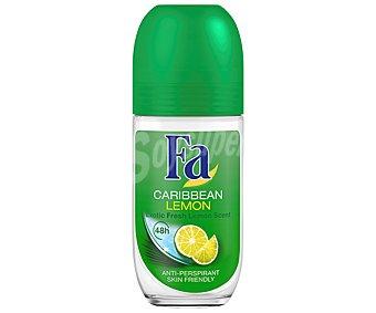 FA LIMONES DEL CARIBE Desodorante Roll-on 50 Mililitros
