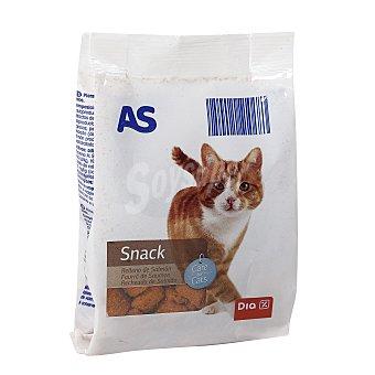 AS Snack para gatos sabor salmón Bolsa 60 gr
