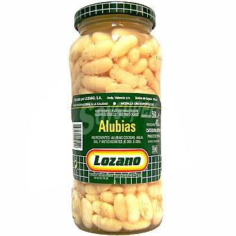 Lozano alubia blanca cocida al natural frasco 410 g neto escurrido