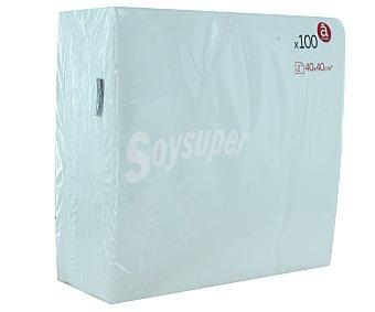 Auchan Servilletas 40x40 2 Capas 100u
