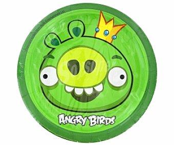 Angry Birds Platos 18cm 10 Unidades