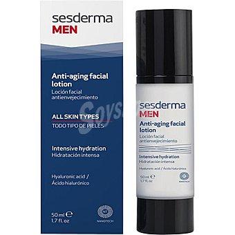 Sesderma MEN loción facial antienvejecimiento para arrugas marcadas para pieles sensibles Frasco 50 ml