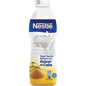 Nestlé Yogur líquido natural con azúcar de caña Botella 750 g