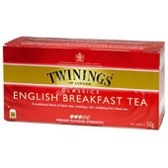 Twinings TE CLASSIC BREAKFAST 25S 50 GRS