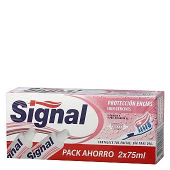 Signal Dentífrico Protección Encías Pack 2x75 ml