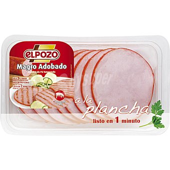 ElPozo Magro de cerdo adobado Bandeja 350 g