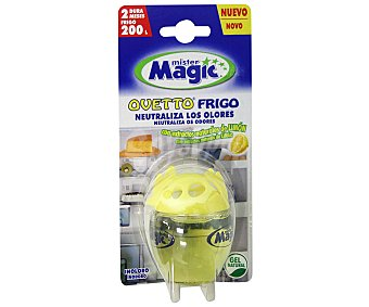 MR MAGIC Ambientador absorbe olores en aerosol Frigoovetto de 1unidad