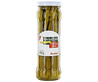 Auchan Espárragos verdes 13/16 piezas Frasco de 185 grs