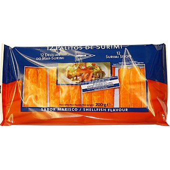 Hipercor Barritas de surimi estuche 200 g 12 unidades