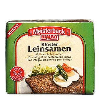 Bimbo Pan especial integral de centeno con linaza Leisambrot 500 g