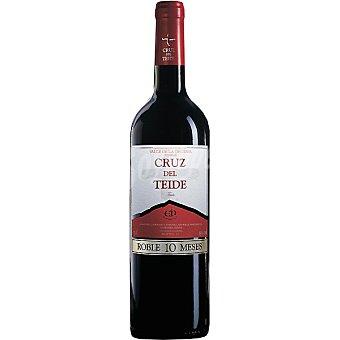 CRUZ DEL TEIDE Vino tinto joven roble D.O. Valle de la Orotava botella 75 cl Botella 75 cl