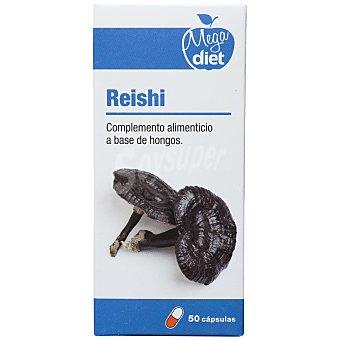 Megadiet Complemento alimenticio en cápsulas Reishi 50 ud
