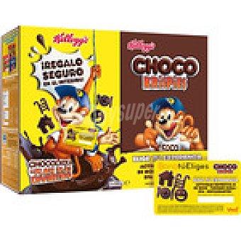 Choco Krispies Kellogg's  con regalo de Cupón Experiencia en el interior pack 2 paquetes 500 g