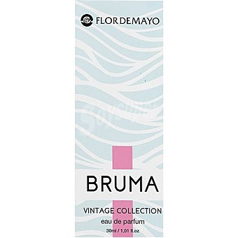 Flor de Mayo Agua de colonia femenina Bruma frasco 30 ml frasco 30 ml