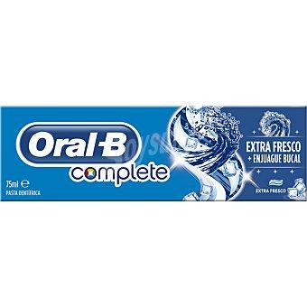 ORAL B Complete Pasta de dientes Extra Fresco con flúor sabor menta fresca tubo 75 ml Tubo 75 ml