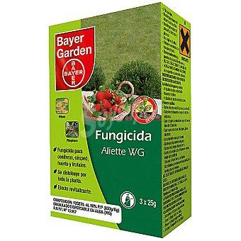 Bayer garden Fungicida sintetico para tratamientos preventivos y curativos con efecto revitalizante 3 x 25 g