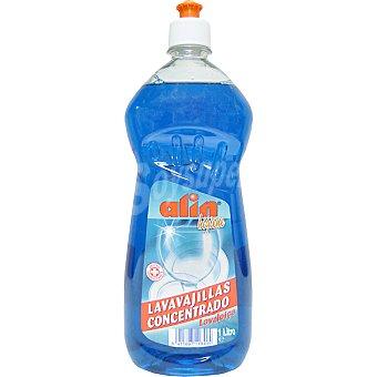 ALIN Lavavajillas a mano concentrado antibacterias Botella 1 l