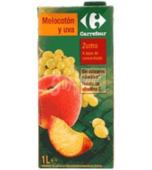 Carrefour Zumo melocotón 1 brik de 1 l