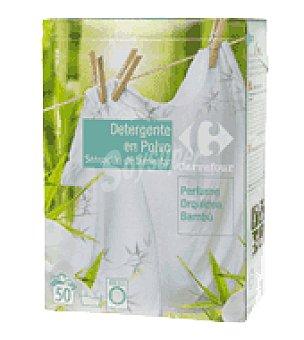 Carrefour Detergente polvo orquídea-bambú 50 lavados