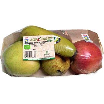 Surtido de frutas ecológicas Bandeja 800 g
