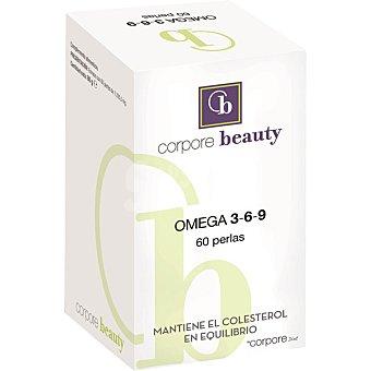 Corpore Beauty Mantiene el colesterol en equilibrio 60 Omega 3-6-9 bote de 80 g