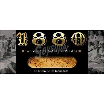 1880 Turrón de crema a la piedra Tableta 200 g