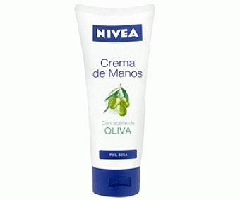 Nivea Crema de Manos con Aceite de Oliva 100 Mililitros