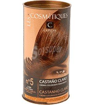 Les Cosmétiques Crema colorante permanente Castaño claro Nº 5 1 unidad