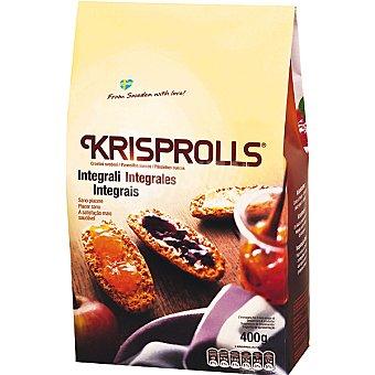 Krisprolls panecillos suecos integrales paquete 400 g