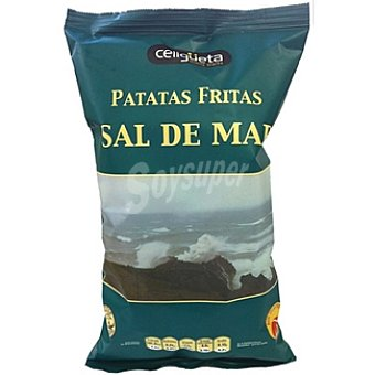 celigueta Patatas fritas sal de mar Bolsa 135 g